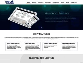 manusis.com screenshot