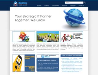 manvish.com screenshot
