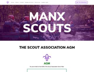 manxscouts.com screenshot