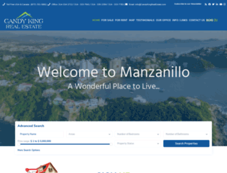 manzanillopacificrealestate.com screenshot