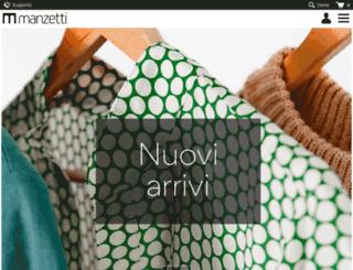 manzetticlothing.com screenshot
