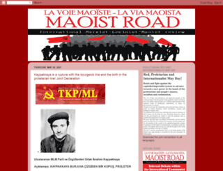 maoistroad.blogspot.ca screenshot
