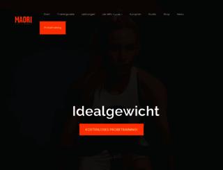 maori-fit.com screenshot