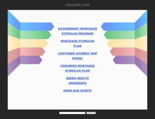 maosuit.com screenshot