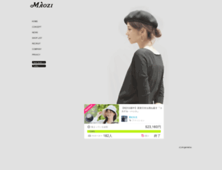 maozi.jp screenshot