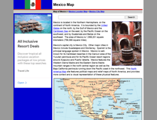 map-of-mexico.org screenshot