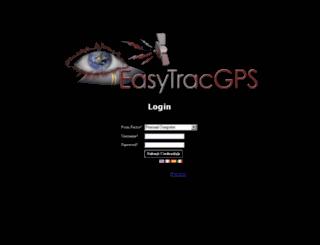 map.easytracgps.com screenshot