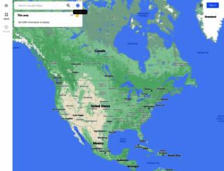 map.google.com screenshot