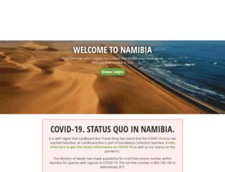 map.namibian.org screenshot
