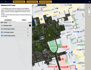 map.utoronto.ca screenshot