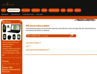 map.wegeundpunkte.de screenshot