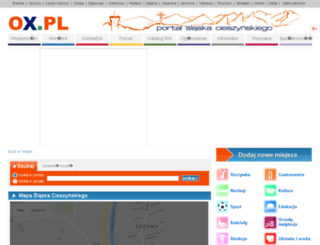 mapa.ox.pl screenshot