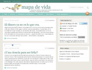 mapadevida.com screenshot