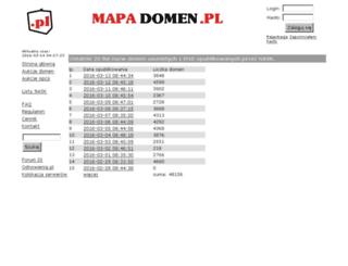 mapadomen.pl screenshot