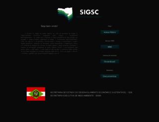 mapainterativo.ciasc.gov.br screenshot