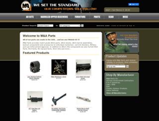 mapartsinc.com screenshot