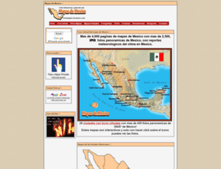 mapas-de-mexico.com screenshot