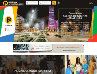 mapas.paginasamarillas.com screenshot