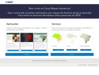 mapasinterativos.ibge.gov.br screenshot