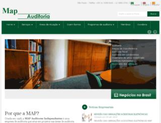 mapaudit.com.br screenshot