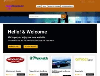 mapbusiness.com screenshot