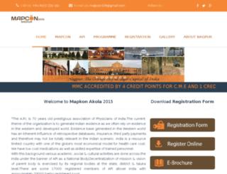 mapconakola.com screenshot