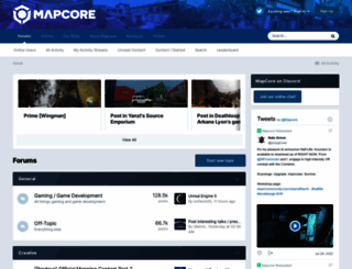 mapcore.org screenshot