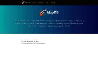 mapdb.org screenshot