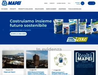 mapei.it screenshot