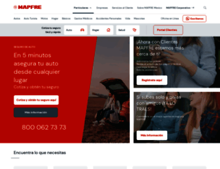 mapfre.com.mx screenshot