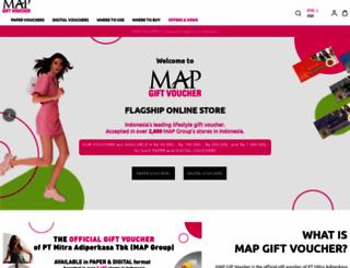 mapgiftvoucher.com screenshot