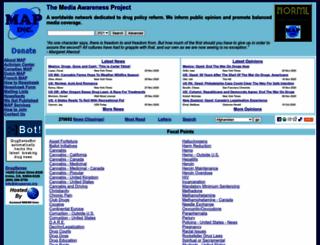 mapinc.org screenshot