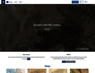 mapire.eu screenshot