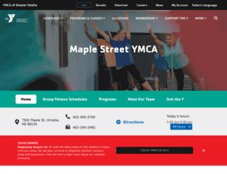 maple-street.metroymca.org screenshot