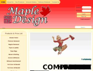 mapledesign.com.my screenshot