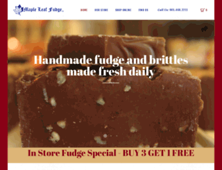 mapleleaffudge.ca screenshot
