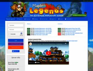 maplelegends.com screenshot