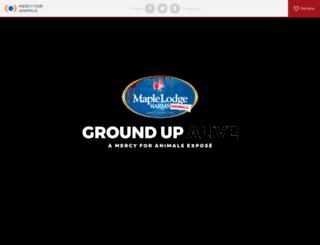maplelodgeharms.ca screenshot