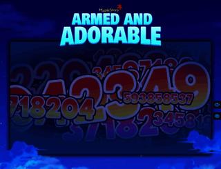 maplestory.nexon.net screenshot