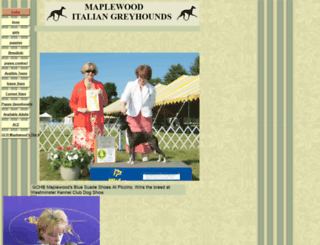 maplewoodigs.homestead.com screenshot
