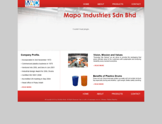 mapo.com.my screenshot
