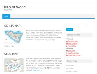 mapoftravel.xyz screenshot