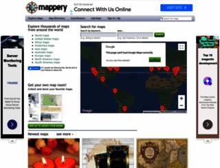 mappery.com screenshot