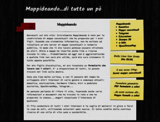mappideando.it screenshot
