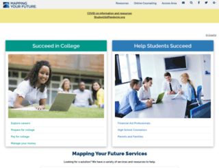 mapping-your-future.org screenshot