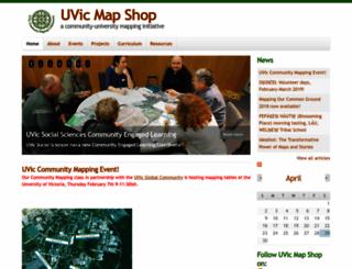 mapping.uvic.ca screenshot