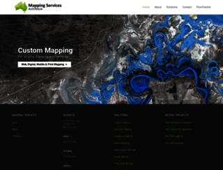 mappingsa.com.au screenshot
