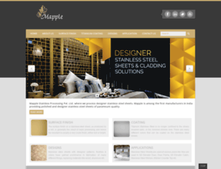 mapple.co.in screenshot