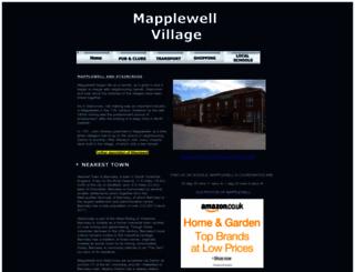 mapplewell.org.uk screenshot
