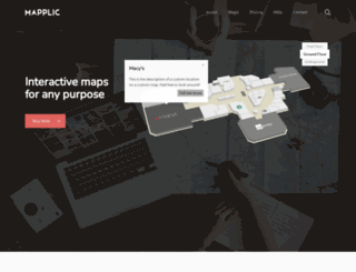 mapplic.com screenshot